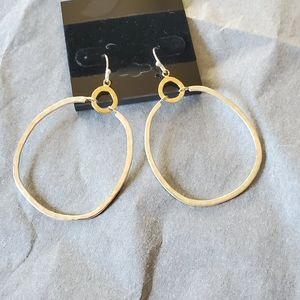 Silpada Sterling Silver Dynamic Duo Earrings